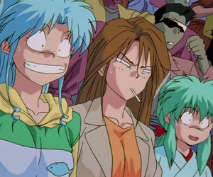 anime, retro anime, and funny image