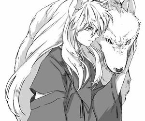 inuyasha, manga, and handsome image
