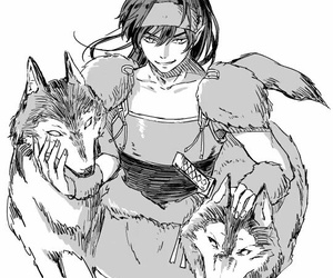 inuyasha, koga, and anime image