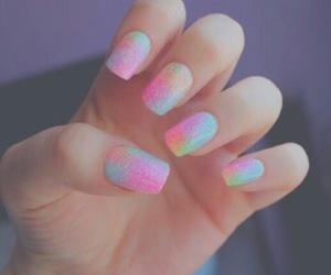 nails, tumblr, and nail art image