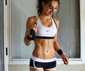 fitness, gym, and happy image