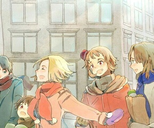 anime, aph, and art image