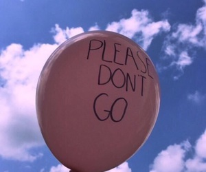 sky, pink, and balloons image