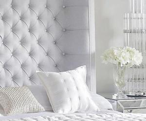 bedroom, design, and flowers image