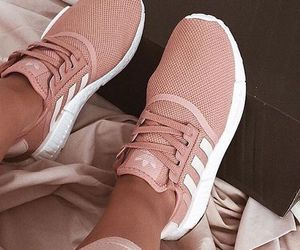 shoe, adidas, and pink image