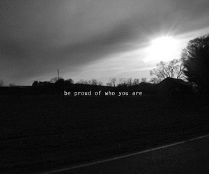 proud and text image