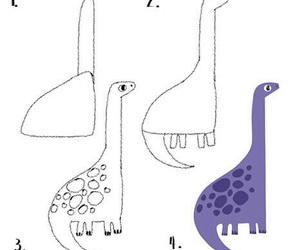 cool, dinosaur, and draw image