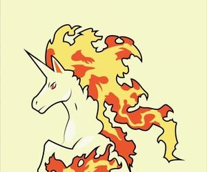 pokemon, wallpaper, and rapidash image