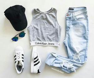 fashion, adidas, and Calvin Klein image
