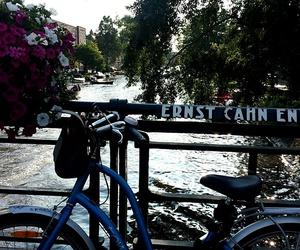 amsterdam, bike, and travel image