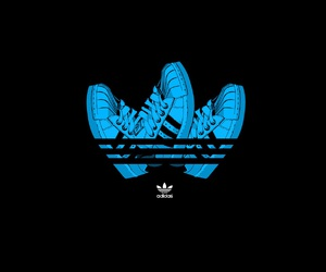 adidas, shoes, and art image