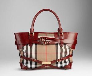 bag, brand, and Burberry image