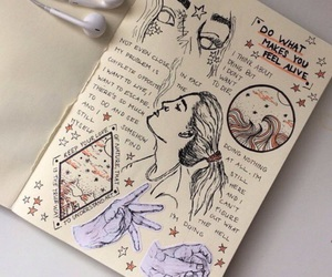 journal, tumblr, and art image