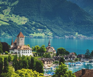 nature, switzerland, and travel image