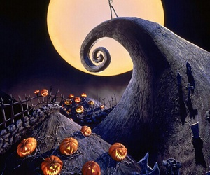 tim burton, Halloween, and the nightmare before christmas image