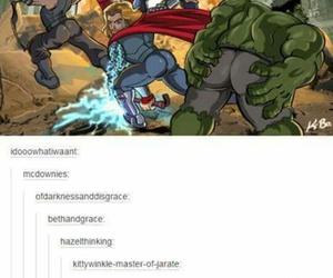 funny, Hulk, and humor image
