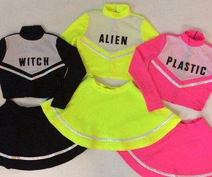 alien, plastic, and witch image