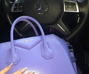 Givenchy, nails, and purple image