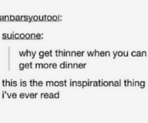 dinner, food, and inspiration image