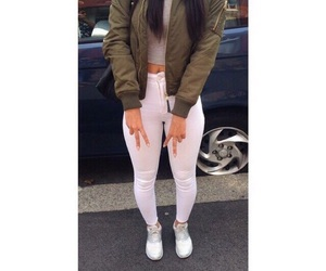 outfit, goals, and white image
