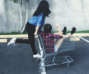 crazy, friendship, and grunge image