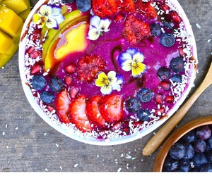 berries, blueberry, and eats image