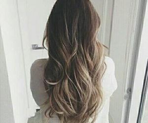 hair, pelo, and morena image