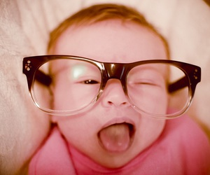 adorable, glasses, and little image