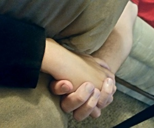 boyfriend, holding hands, and cute image