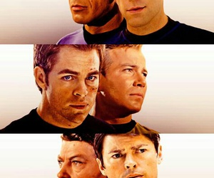 star trek, spock, and Kirk image