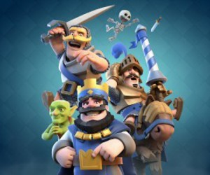 clash royale, download clash royale, and clash royale game image
