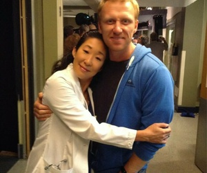 grey's anatomy, kevin mckidd, and sandra oh image