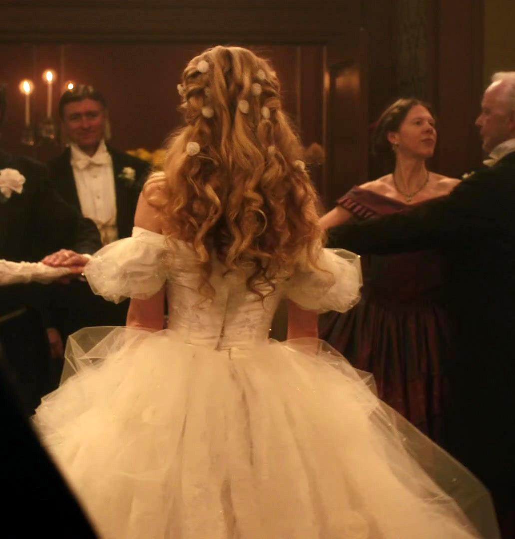 Image de dress, princess, and hair