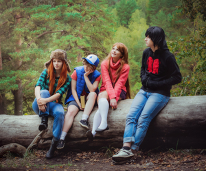 cosplay, gravity falls, and dipper pines image