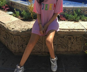 pink, style, and sahar luna image
