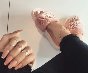 nails, puma, and shoes image