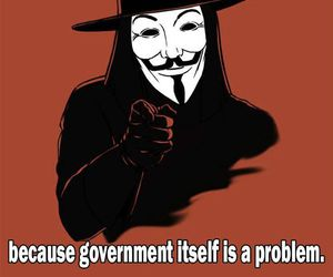 anarchy, anonymous, and government image
