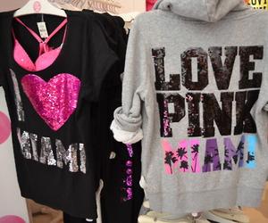 pink, Victoria's Secret, and Miami image