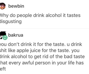 alcohol, cool, and drunk image