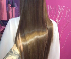 beautiful, hair, and long hair image