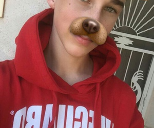 snapchat, magcon, and hunter rowland image