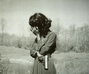 gun, vintage, and photography image