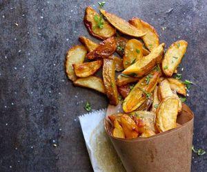 food, potato, and fries image