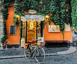 orange, green, and travel image
