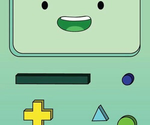bmo, adventure time, and wallpaper image