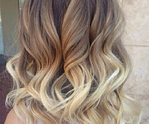 ombre hair, hair, and ombre image