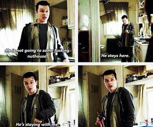 shameless, love, and gallavich image