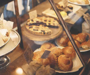 breakfast, paris, and cafe image