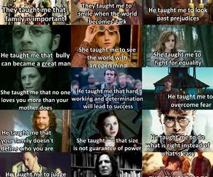 albus dumbledore, hermione granger, and luna image