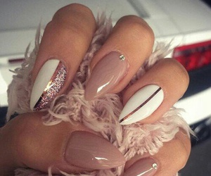claws, girl, and glitter image